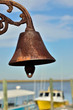 Maritime bell at Georgia boat dock