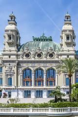 Grand Theatre de Monte Carlo. Architect Charles Garnier. Monaco.