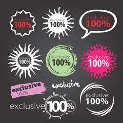 exclusive 100 %