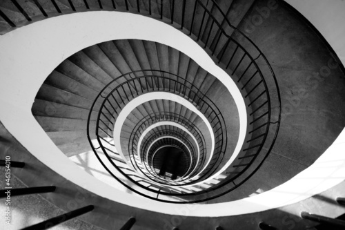 Stairs spiral - 46354010