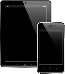 Tablet PC and Mobile phone