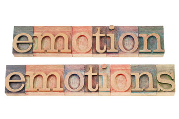 emotion in wood type