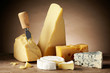 Various types of cheese - 46356208