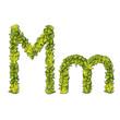 Eco Font Letter M