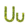 Eco Font Letter U