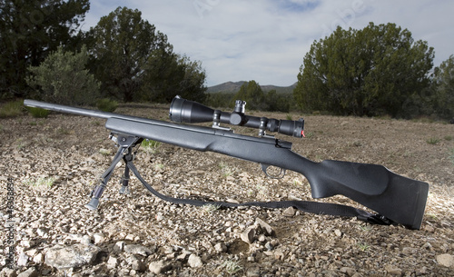 Long-range rifle