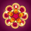 creative happy diwali background