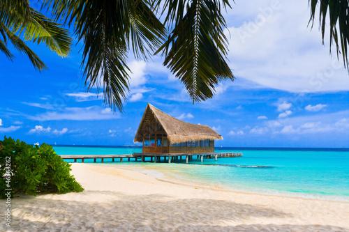 Klub nurkowy na tropikalnej wyspie