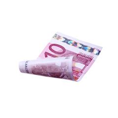 Fliegender 10 Euroschein
