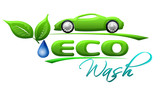 Eco car wash Symbol