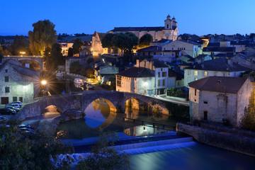 le vieux village de Nérac en Lot et Garonne