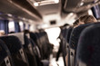 Leinwanddruck Bild - Busfahrt