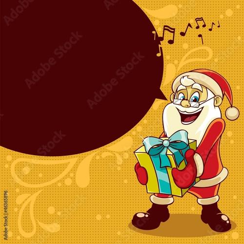 剪贴画卡图形圣诞节娱乐广场复古快乐的庆祝活动插图摘要新年模式泡沫