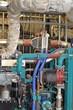 Motor Biogasanlage