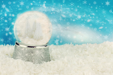 Winterland Snow Globe