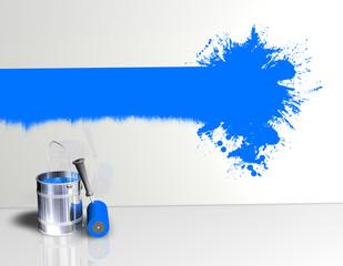 Wand Farbstreifen Klecks Blau.jpg