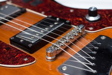 Old Rock Guitar