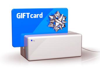 Gift Card Blue Terminal
