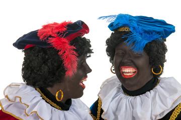 Black Petes with fun