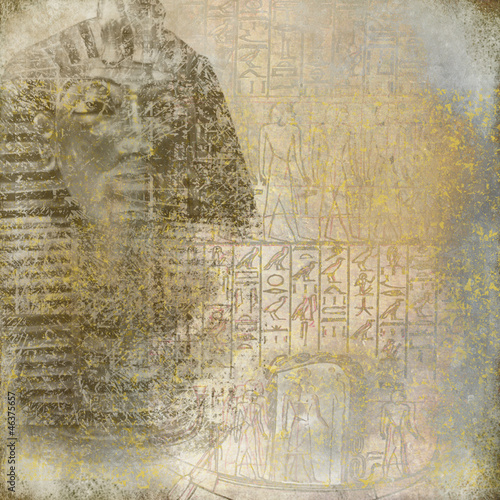 Vintage Egypt background © acrogame