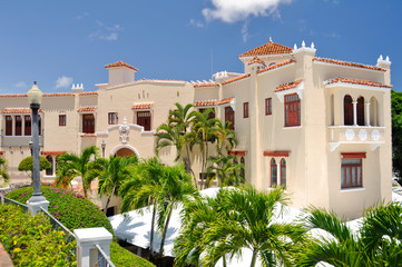 Castillo Serralles Mansion at Ponce (Puerto Rico)