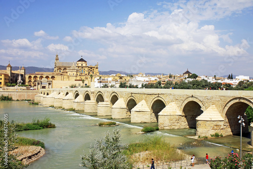 Mezquita Cathedral and Roman Bridge - Cordoba - Spain