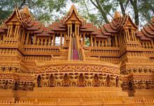 A festiwal rzeźby buddyjskie świeca aktywny okres Wielkiego Postu