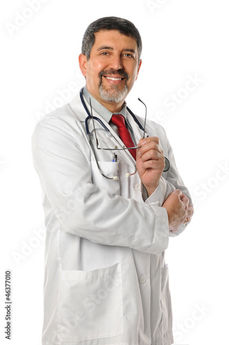 Portrait of Hispanic Doctor