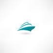 Ocean Liner. Cruise Ship
