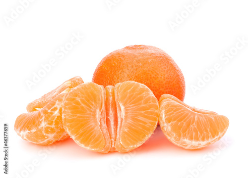 Orange mandarin or tangerine fruit