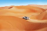 Fototapety 4 by 4 dune bashing is a popular sport of the Arabian desert