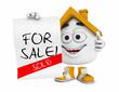 Kleines 3D Haus Orange - For Sale! - Sold