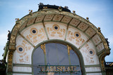 Otto Wagner Pavilion, Karlsplatz poster