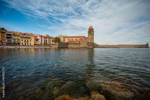 Church Notre-Dame-des-Anges  in Collioure, France