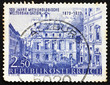 Postage stamp Austria 1973 Academy of Science, by Canaletto, Vie