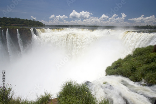 Devil's Throat, Iguazu falls, Argentina, South America