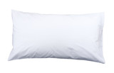 healthy pillow to support your neck isolates on white