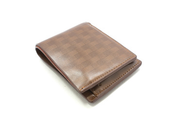 Wallet, white background