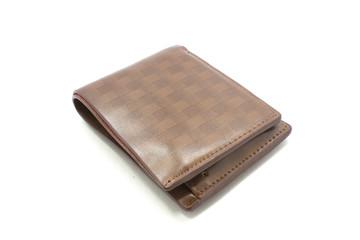 Wallet, white background