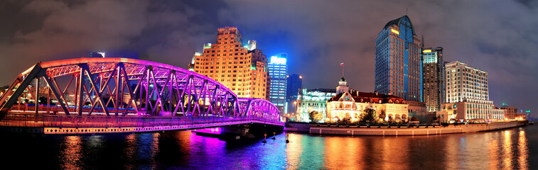 Shanghai Waibaidu bridge