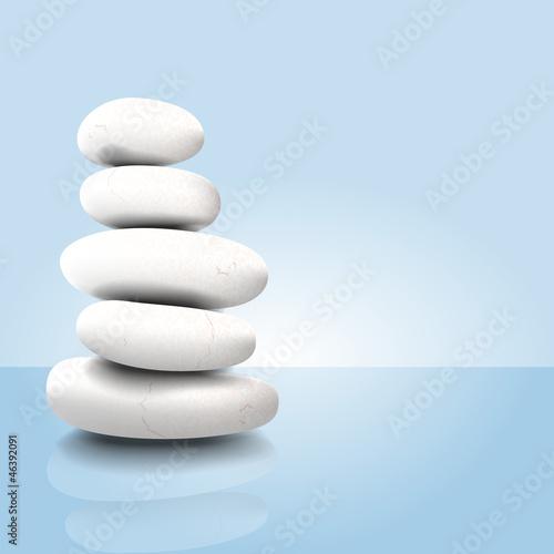 Vector zen pebbles