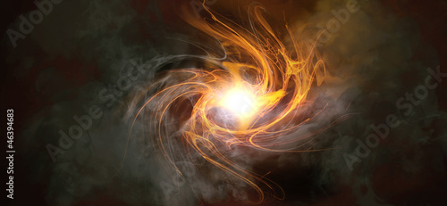 Explosion -  Abstract Fire Background