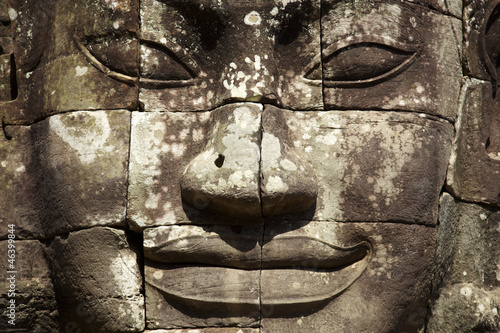 face of the Bayon temple