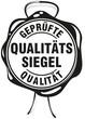 qualitätssiegel geprüfte qualität