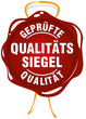 qualitätssiegel geprüfte qualität siegel vektor