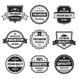 Fototapety Badges Collection 01