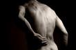Fototapeta Tył - Ból - Mężczyzna