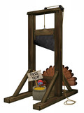 Toon Turkey Guillotine