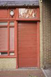Entry bar door poster