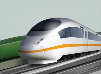 High Speed Deluxe Train